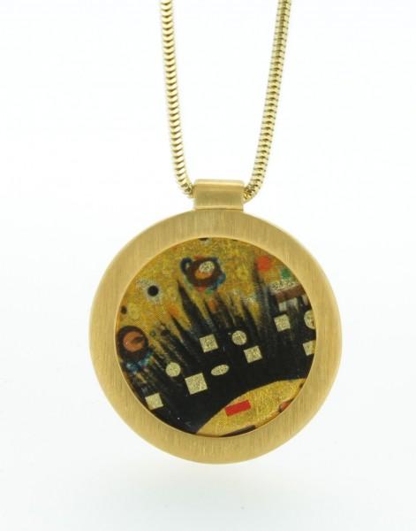 Anhänger Kreis Bild 401 Gold