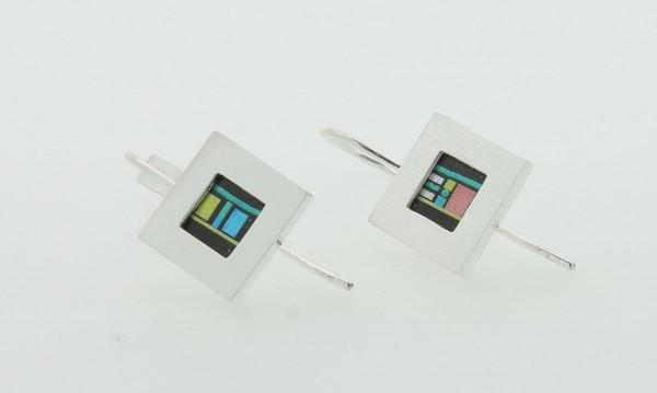 Ohrhänger Quadrat Bild 501