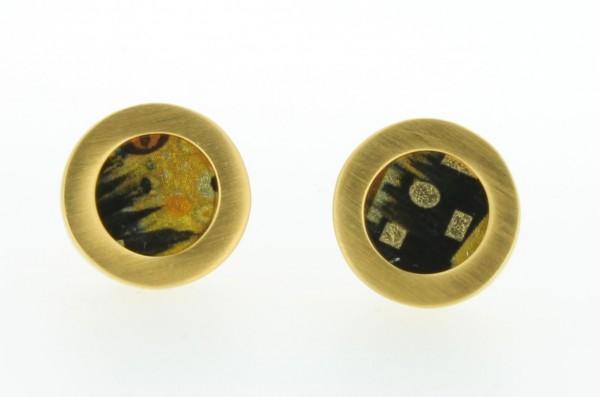 Ohrstecker Kreis Bild 401 Gold