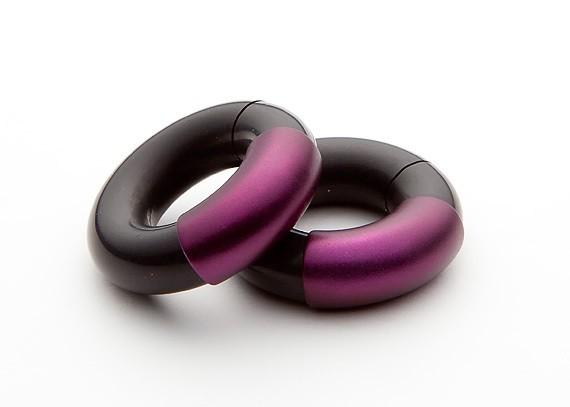 "Cyée-Creolen ""violett"""