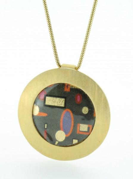 Anhänger Kreis groß Bild 114 Gold
