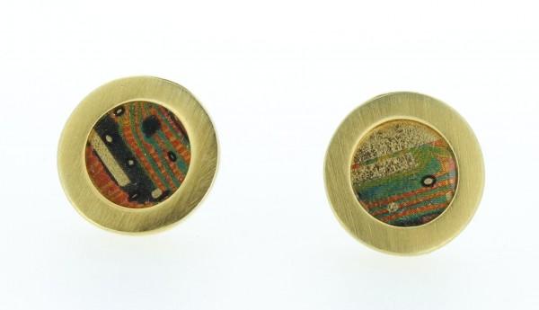 Ohrstecker Kreis Bild 104 Gold
