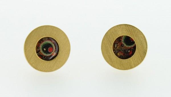 Ohrstecker Kreis klein Bild 707 Gold